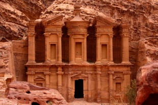 Petra is an ancient historical and archaeological city in southern Jordan.